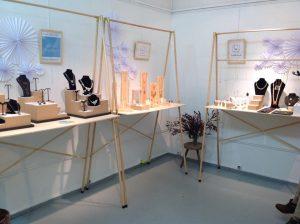 Exposition vente à la Galerie boutique 15 rue Elzevir du 7 au 13 Décembre 2015.Paris 3ème