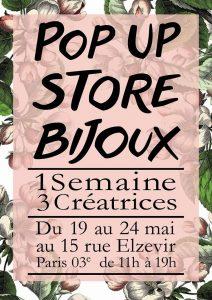 Exposition vente à la Galerie boutique du Marais du 19 au 24 mars 201515 rue Elzevir, Paris 3ème.