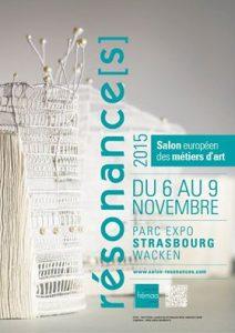Résonance[s] du 6 au 9 Novembre 2015.Parc des expo, Strasbourg.