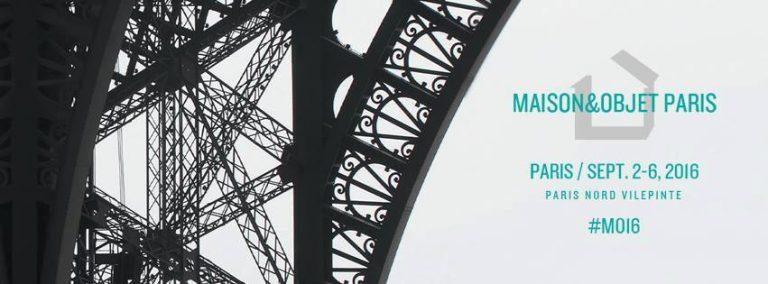 Maison&Objet Paris, du 2 au 6 Septembre 2016.Paris Nord Villepinte.