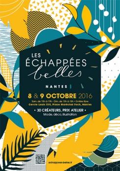 Les Echappées Belles, le 8 et 9 Octobre 2016.Cercle Louis XVI, Nantes.