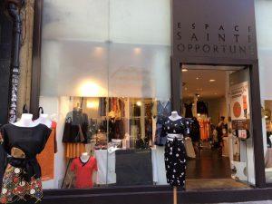 Boutique éphémère, Espace Sainte Opportune, du 26 Septembre au 2 Octobre 2016.1 rue Sainte Opportune, Paris.